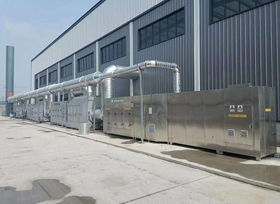 沈阳市向东成套设备电气厂环保设备改造项目